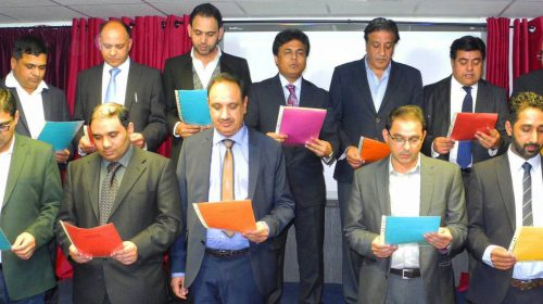 Journalists and Community Leaders attended PPCUK Oath Taking Ceremony 2015-16