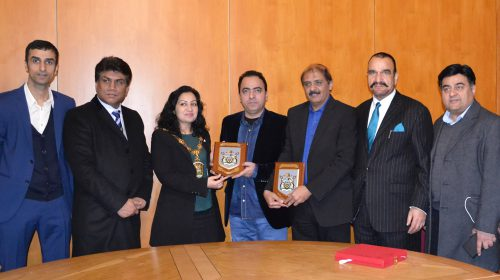 Former President Lahore Press Club honoured in London