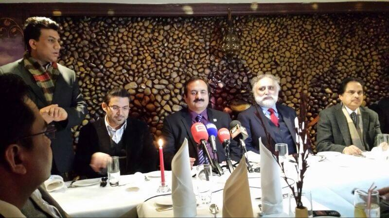 Meet the press with Rana Mashood at Shezan London