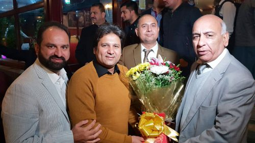 PPCUK Welcomes Senior Journalist from KPK