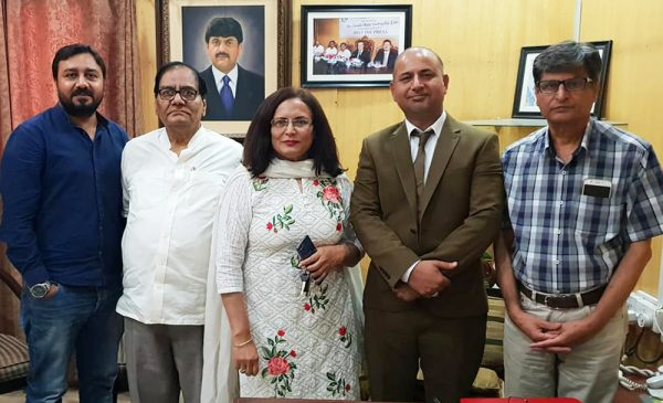 President PPCUK Arshad Rachyal visits NPC Islamabad