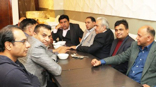 PPCUK Invites Arif Hameed Bhatti to a Honourary Reception