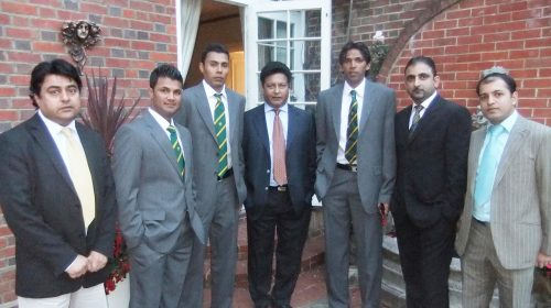 Pakistan Press Club UK Meets Pakistan Cricket Team