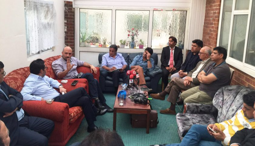Journalists demand action from PTI leadership over London attack