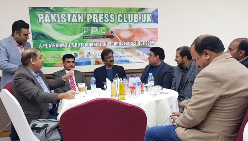 Reception in honor of renowned Pakistani Artist Tauqir Nasir