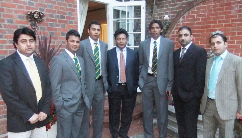 Pakistan Press Club UK Meets Pakistan Cricket Team